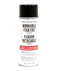 Grumbacher Workable Fixative Spray Matte, 11.75 oz.