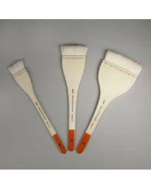 R&F Handmade Paints Hake Encaustic Brushes