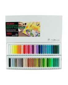 Holbein Artists' Soft Assorted, Set of 48 Pastels