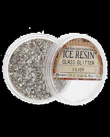 ICE Resin, German Glass Glitter Silver
