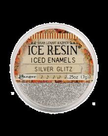 ICE Resin, Iced Enamels Silver Glitz