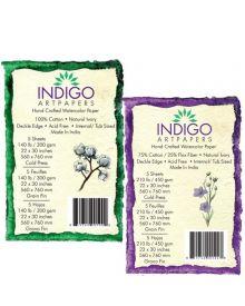 Indigo Artpapers Handmade Watercolour Paper