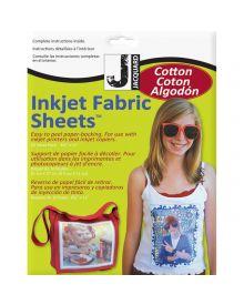 Jacquard Inkjet Fabric 8.5'' x 11'' Cotton Sheets