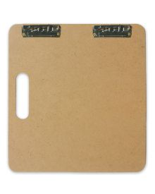 Richeson Heavy Duty Sketch and Drawing Clipboard 18x18 Inches