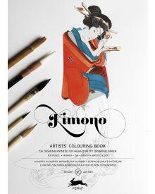 KIMONO: Artists' Colouring Books - Paperback