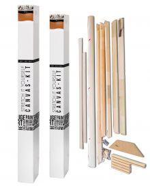 Fredrix Pro Series Dixie Kit 17.5 oz Acrylic Primed Cotton Canvas