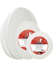 Fredrix Artist Series Round And Oval Stretched Canvas