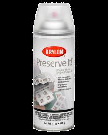 Krylon Matte Preserve It Paper Protectant, 11 oz