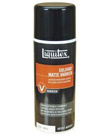Liquitex Professional Soluvar Matte Aerosol Spray Varnish