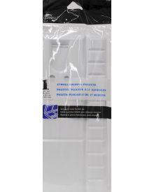 Loew-Cornell 17-Well Folding Plastic Palette