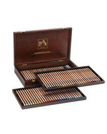 Caran d'Ache Luminance 6901 Wooden Pencil Box 76 Assorted Colours