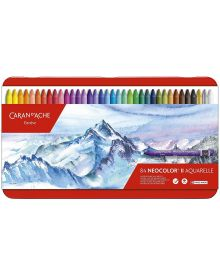 Caran d'Ache Classic Neocolor II Water-Soluble Pastel Set of 84