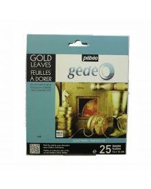 Pébéo Gold - Gold 25 Sheets