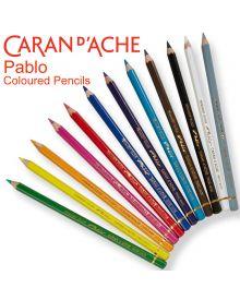 Caran d'Ache Pablo Coloured Single Pencils