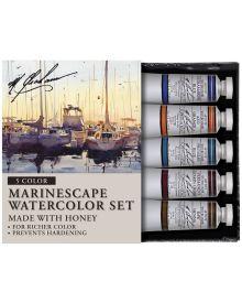 M. Graham Marinescape 5-Colour Watercolour Paint Set