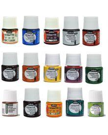 Pébéo Ceramic Enamel Effect Paints