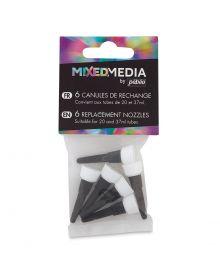 Pebeo Mixed Media Replacement Nozzles, 6/pk