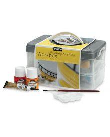 Pébéo Porcelaine Workbox Kit - 10 x 45 ml