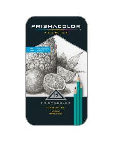 Prismacolor Premium Turquoise Drawing Pencils Set 12