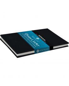 """Pentalic Draw Dream Catcher Accordion-Fold Artist Journal 4""""x6"""""""