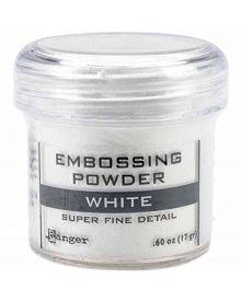 Ranger Embossing Powder White .60 oz Jar