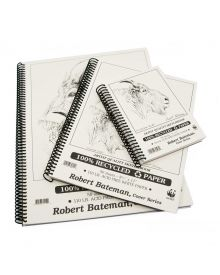 Robert Bateman Artist Quality Sketchbook 110LB/50 Sh, 8 x 11 inches