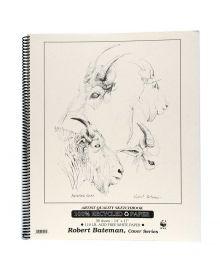 Robert Bateman Artist Quality Sketchbook 14x17in