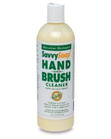 Savvy Soap Hand and Brush-16oz