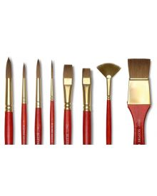Winsor & Newton Sceptre Gold II Short Handled Brushes