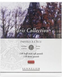 Sennelier Extra Soft Pastel Half Sticks Paris Collection Set of 120
