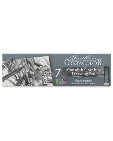Cretacolor Monolith Graphite Pocket Tin Set of 7