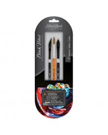 Silver Brush Essential Brush Strokes 3pc Set
