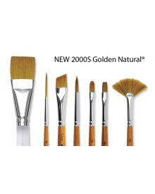 Silver Brush 2000S Golden Natural Brushes