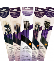 Silver Scrubber Brush Sets