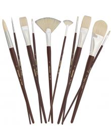 Silver Brush Silverstone Premium White Hog Bristle Brushes