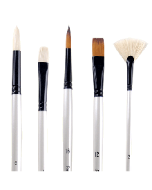 Simply Simmons Oil & Acrylic Long Handle Brushes