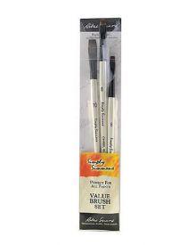 Simply Simmons Chiseled Edge Value 3-Brush Set