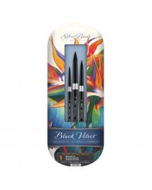 Silver Brush Susan Louise Moyer Basic Silk Painting Watercolour 3pc Set