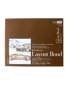 """Strathmore Layout Paper Pads 400 Series 14"""" x 17"""""""