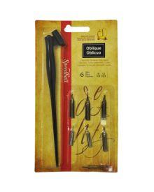 Speedball Oblique Pen Project Set