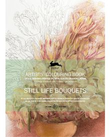 STILL LIFE BOUQUETS: Artists' Colouring Books - Paperback