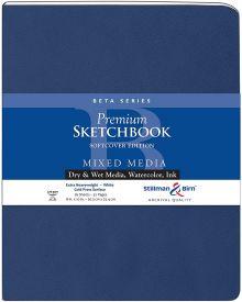 Stillman & Birn Beta Series Premium Soft-Cover Sketch Book 270 gsm - 8 x 10 inches