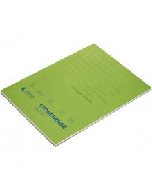 Stonehenge White Colour 100% Coton (15 Sheets) Pad 11 x 14 inches
