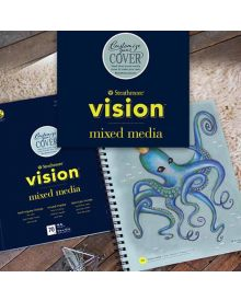 Strathmore Vision Custom Mixed Media Wire-bound Pads