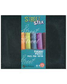 Jack Richeson Street Stix Pavement Pastel Set of 12