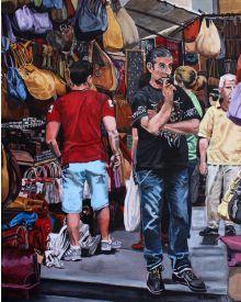 Street Vendor in Firenze