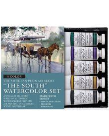 M. Graham The South 5 Colour Watercolour Paint Set