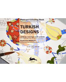 TURKISH DESIGNS: PEPIN POSTCARD COLOURING BOOK