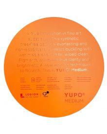 "Yupo White/Medium 200gsm/74lb Cover Circles 8"" (10 sheets/pack)"