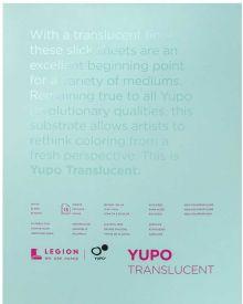 Yupo Translucent 153 gsm 15 Sheet Pad 27.94x35.56cm/11x14in